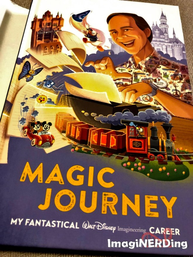 inside cover of Magic Journey by Kevin Rafferty