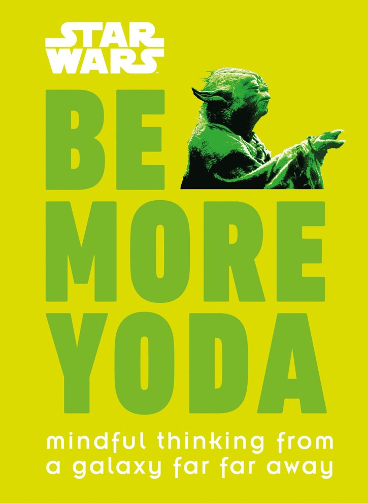 cover of be more yoda by christian blauvelt