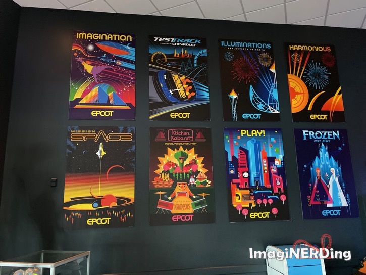 epcot experience attraction posters