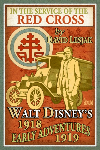 Book cover for In Service of the Red Cross: Walt Disney's Early Years by David Lesjack