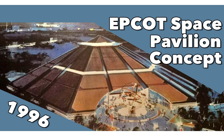 Epcot Space Pavilion Concept from 1996: Part One
