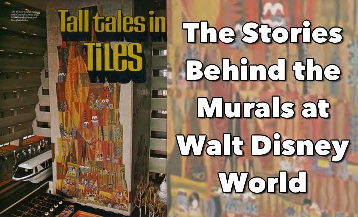 Murals at Walt Disney World