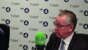 Michael Gove on Radio 4