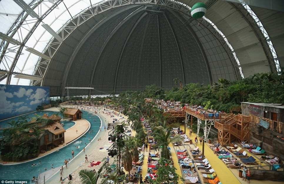 Holiday: The resort contains a beach, lagoon, water slide and adventure park. Guests can also enjoy numerous restaurants, evening shows and saunas