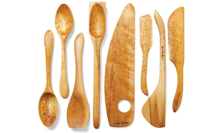kitchen wooden utensils sinks for handcrafted imagine wood