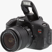 The Canon EOS Rebel T3i digital SLR. Photo copyright ©2011, Imaging Resource. All rights reserved.