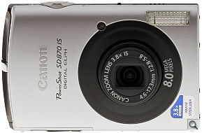 image of Canon PowerShot SD870 IS