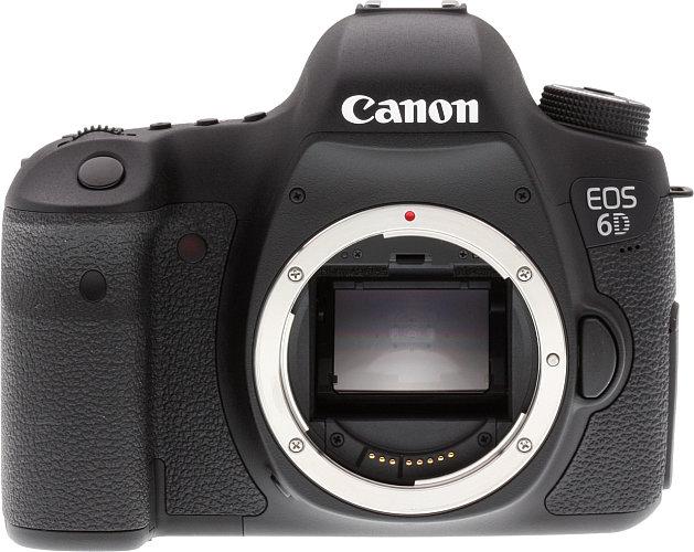 Canon's EOS 6D digital full-frame dSLR.