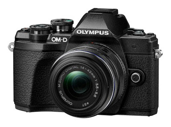 Olympus E-M10 III review -- Front view