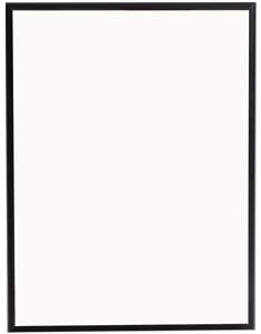 MDF Half Inch Plaque with Black Chamfer Edge 8 x 10 inches