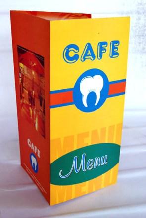 desain menu makanan cafe gigi