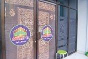 Stiker OneWay Kaca Kantor dan Sublast Cutting Maminasa Tours Makassar
