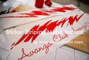 Striping Avanza