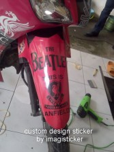custom decal motor