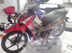 striping stiker motor supra