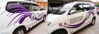 Sticker Mobil Operasional Akbid Tahirah Bulukumba