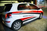 Sticker Striping Yaris belakang