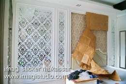 Sticker Cermin Interior Kamar