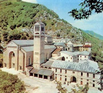 Abb. 27: Benediktinerabtei von Montevergine
