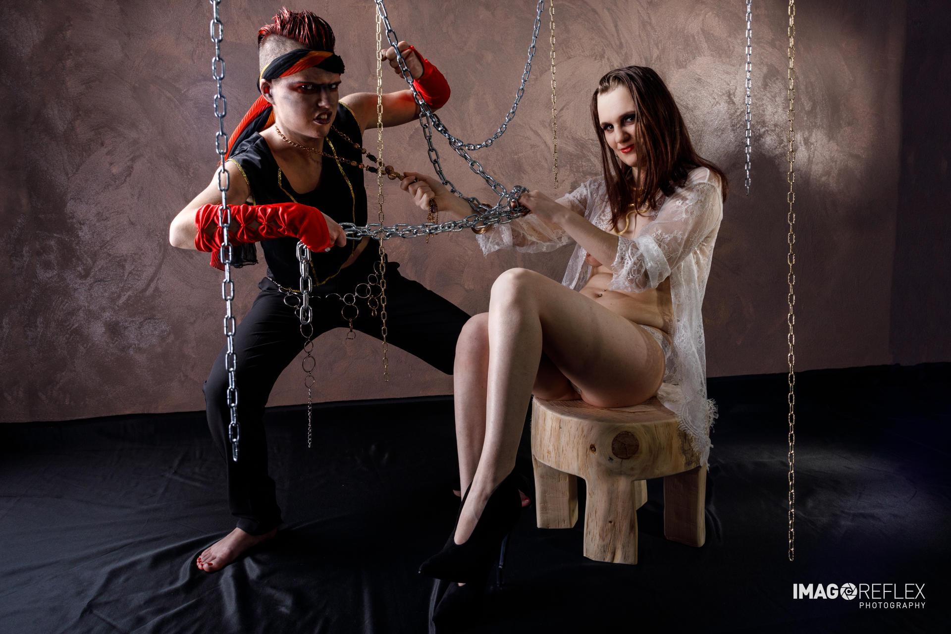 Debora Shila Sartorel e Erica Pecar