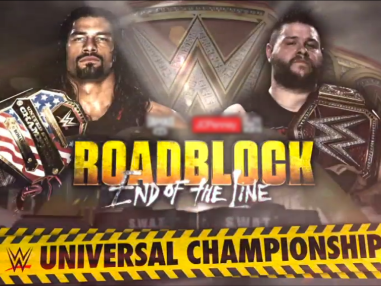 25 Matches that Defined 2016 #19: Kevin Owens vs Roman Reigns, Roadblock: End of the Line