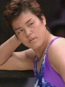 Shinobu Kandori looking angry