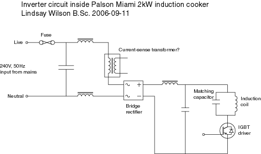 prestige induction cooker circuit diagram tropical rainforest food web schematic