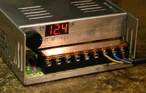 Amp Wiring Diagram Modifying A Chinese Power Supply To Provide A Variable Voltage