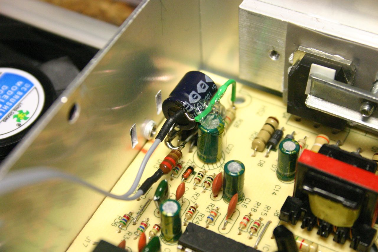 hight resolution of power supply for voltmeter module
