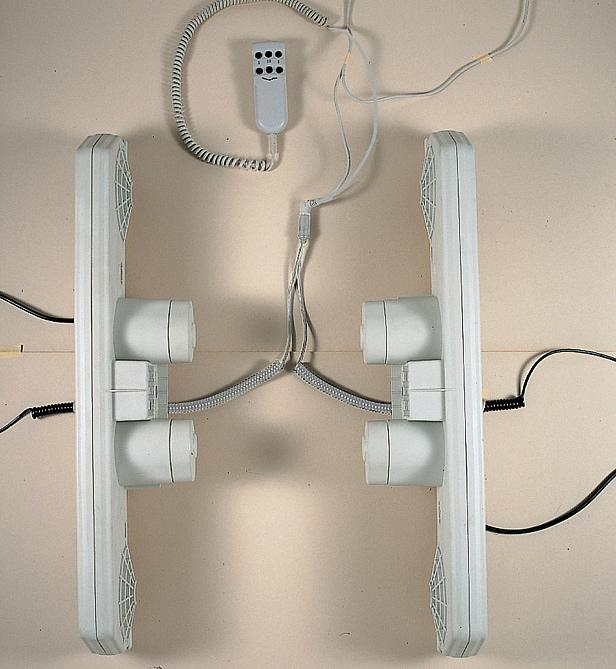 Pulsantiera elettrica per reti letto  Materassi lattice e
