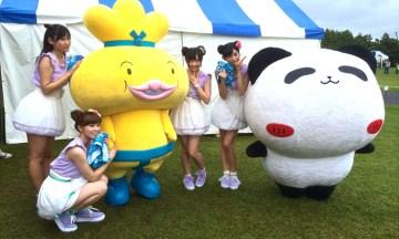 【いい気分転換になりました】浦安フェスティバル2014で、ゆるキャラとアイドルを見てきました