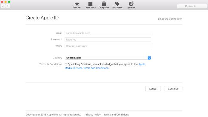 create-apple-id-mac