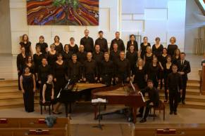 Piano Pinnacle, Deborah Grimmett and Iman Habibi, Performing Brahms Requiem with the Vancouver Peace Choir, March 2014