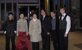 Finalists of the Knigge National Piano Competition