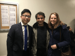 New York Pianists Avan Yu Deborah Grimmett Iman Habibi