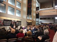 Iman Habibi and Alexancer Micklethwaite, pre-concert talk, Winnipeg Symphony Orchestra