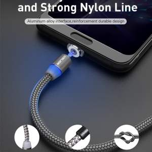2.4A Type C Cable Magnetic Micro USB Cable Smartphone 22