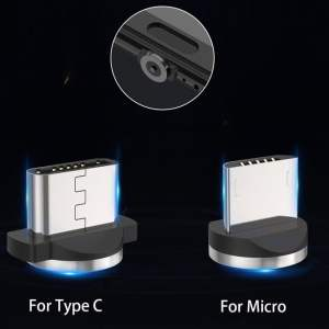 2.4A Type C Cable Magnetic Micro USB Cable Smartphone 17