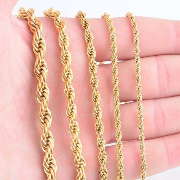 Rope Necklace for Men Men Jewelry 3