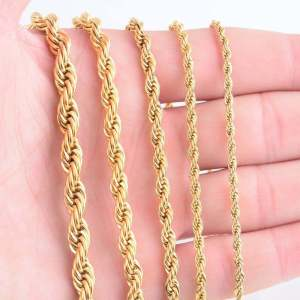 Rope Necklace for Men Men Jewelry