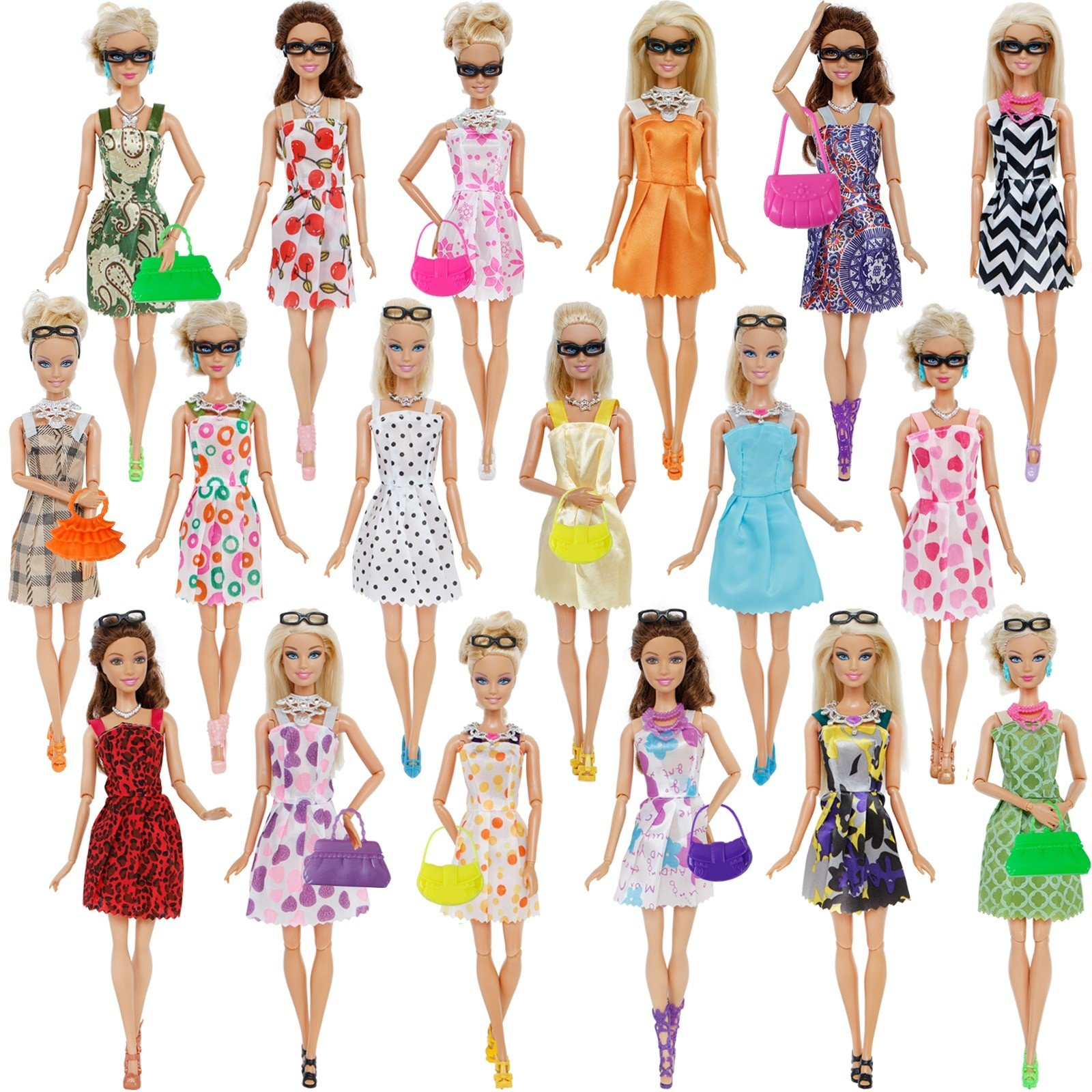 Doll Accessories Barbie Doll Clothes Toys 2