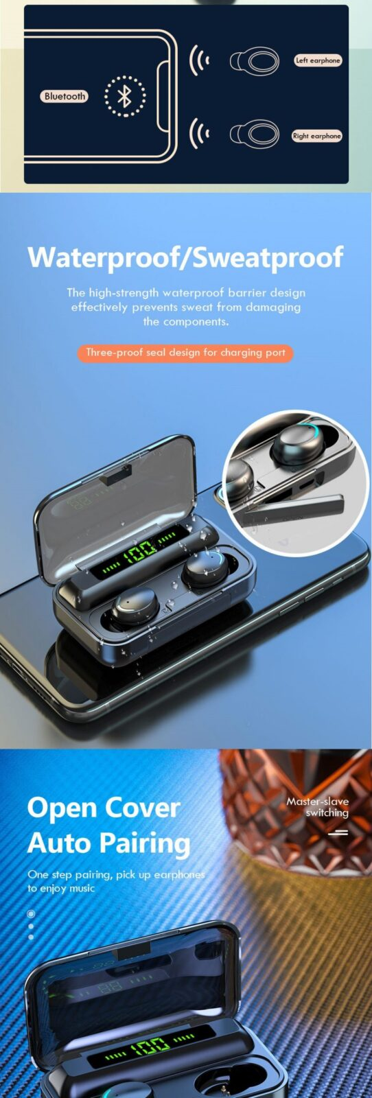 Latest Trendy Bluetooth Earphones with 9D HiFi Sound Effect Consumer Electronics 15