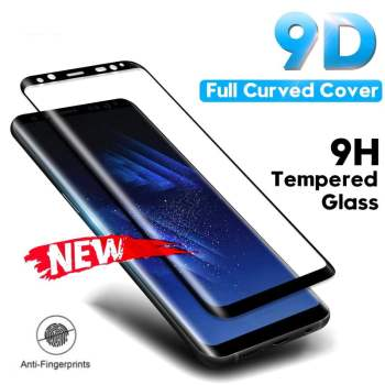 9D Tempered Glass Screen Protector for Samsung Smartphone