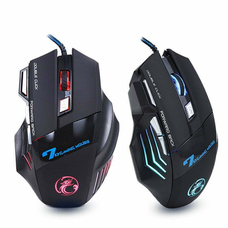 New PC Mouse for Gamers Computers & Tablets