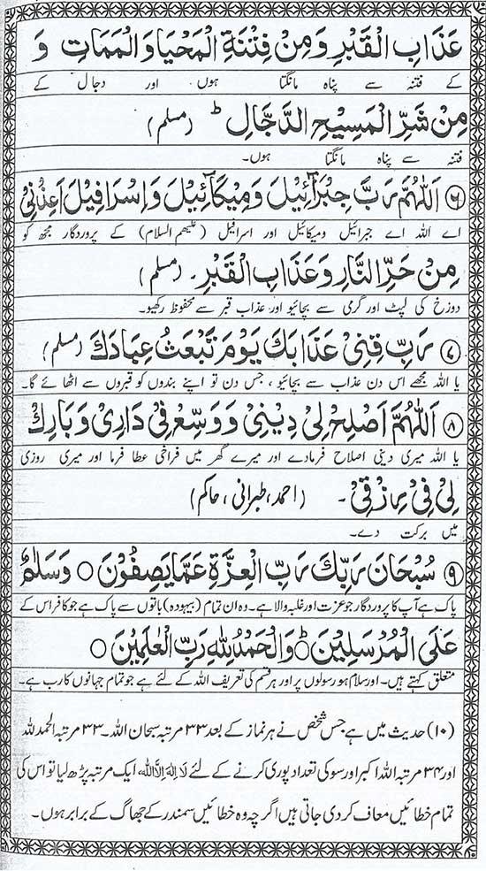 Har Farz Namaz Kay Baad Ki Duaaien | Iman Islam - Islamic Education