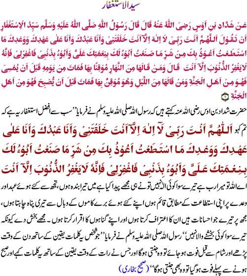 Syed-ul-Istighfar