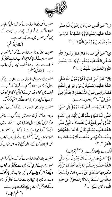 Khawab Kay Mutaliq