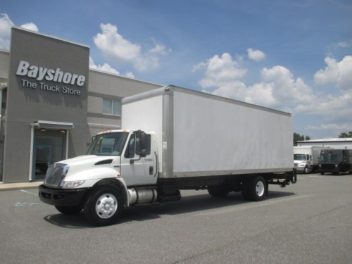 small resolution of used 2013 international 4000 series 4300 box van truck 8009