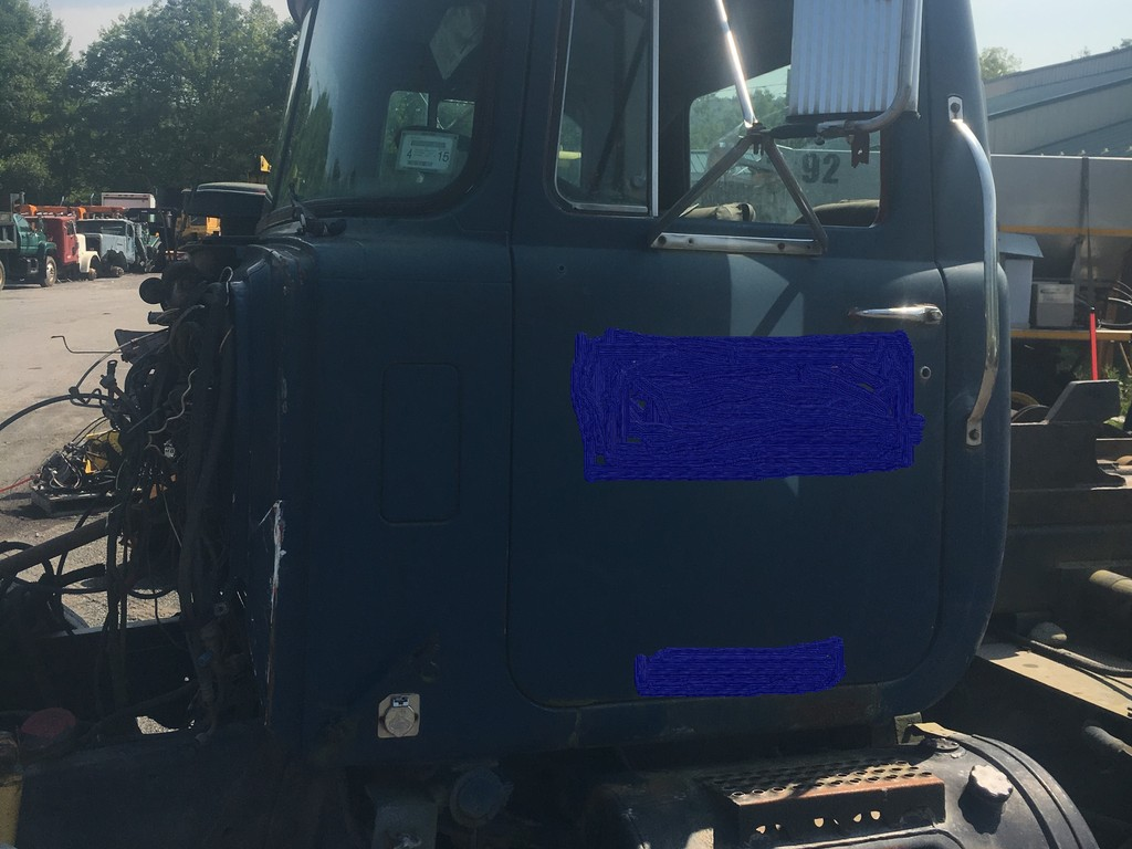 hight resolution of used 1995 mack rd cab complete truck parts 2136
