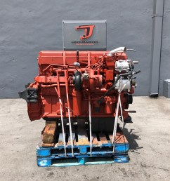 used 2004 cummins isx engine assembly truck parts 590622 [ 1024 x 768 Pixel ]